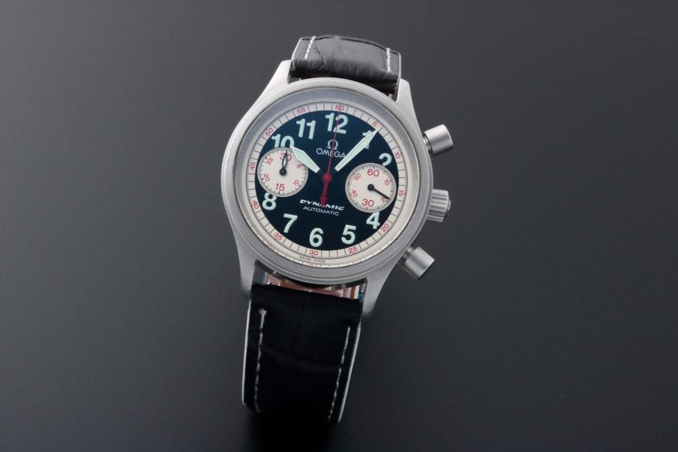 Lot #5659 – Omega Dynamic Targa Florio Chronograph Watch 5241.51.00 Dynamic Chronograph