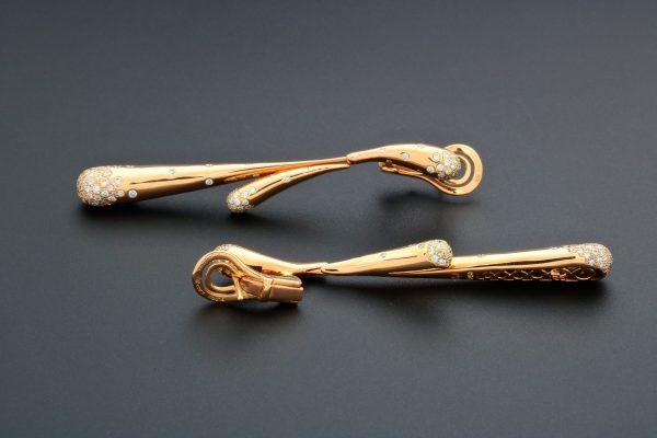 Audemars Piguet Givrine Diamond Earrings CL0684-ORM-CF-Z000 - Baer & Bosch Auctioneers