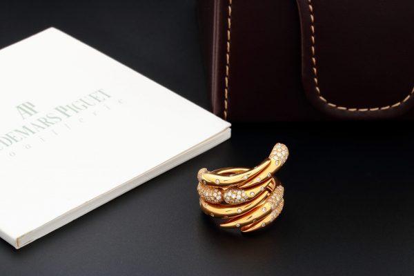 Audemars Piguet Givrine Rose Gold Diamond Ring BG0684-ORM-SS-Z000 - Baer & Bosch Auctioneers