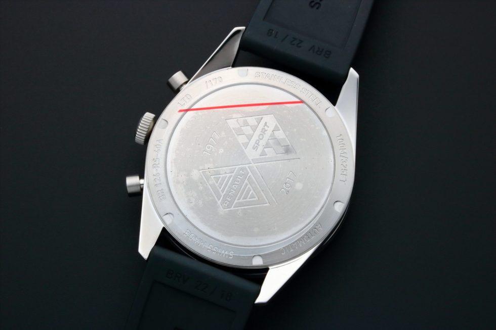 Lot #3189B – Bell & Ross Renault Sport Chronograph Watch BRV126-RS40-ST/SRB Bell & Ross Bell & Ross