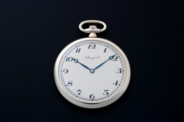 Breguet 18k White Gold Pocket Watch - Baer & Bosch Auctioneers