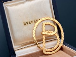 Bvlgari 18k Yellow Gold Money Clip - Baer & Bosch Auctioneers