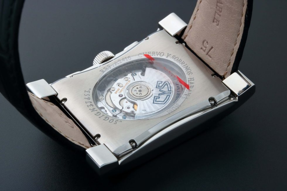 Lot #3223C – Cuervo y Sobrinos Esplendidos Chronograph Watch 2416.1N Cuervo y Sobrinos Chronograph