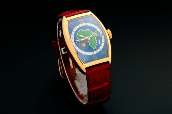 Franck Muller GMT Cloisonne Map Watch 5850 WW S - Baer & Bosch Auctioneers