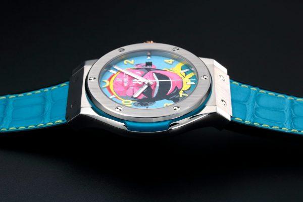Hublot Fusion Yue Minjun Monkey Watch 542.NX.6699.LR.MYC16 - Baer & Bosch Auctioneers