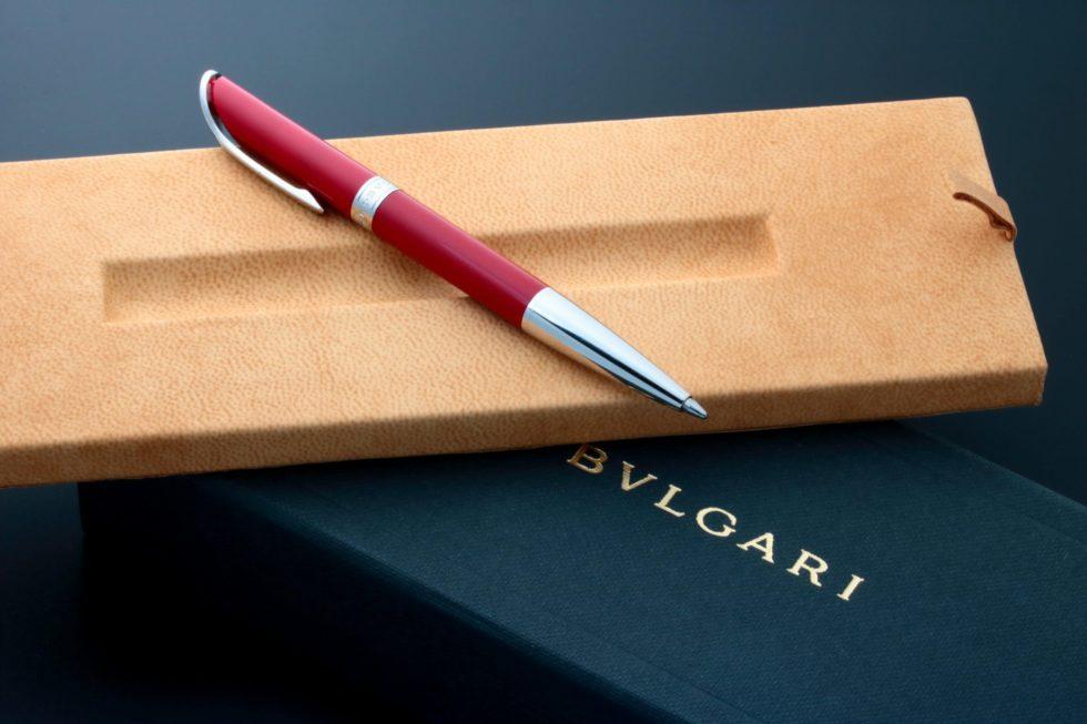 Lot #3138A – Bvlgari Scripta Volant Ballpoint Pen Ballpoint Pen Bulgari Pen