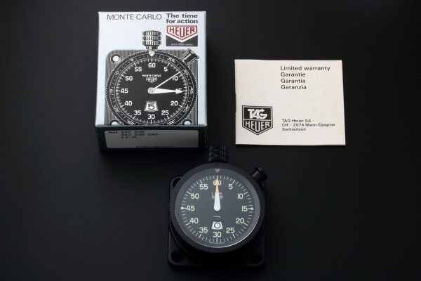 Heuer IFR Dashboard Timer Stopwatch 542.838.040 - Baer Bosch Auctioneers
