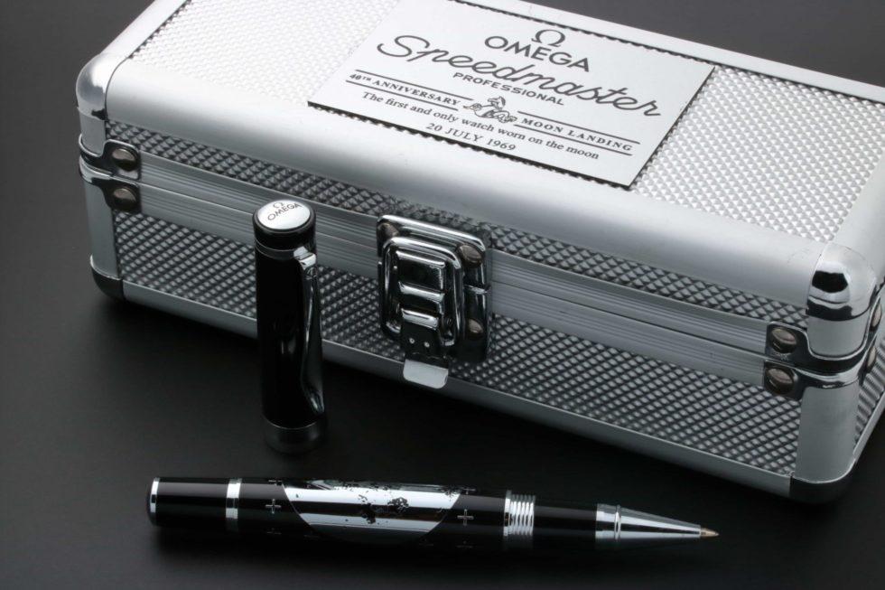 Lot #3235B – Omega Speedmaster Apollo 11 40th Anniversary Moon Pen Ballpoint Pen Ballpoint Pen