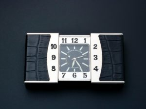 Franck Muller Ermeto Travel Alarm Desk Clock - Baer Bosch Auctioneers