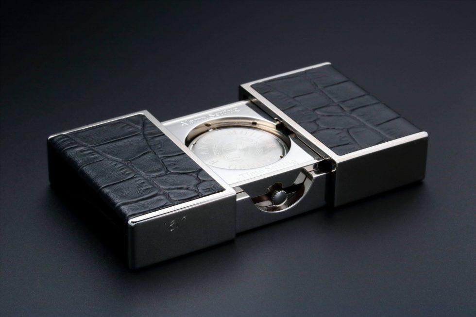 Lot #3187 – Franck Muller Ermeto Travel Alarm Desk Clock Clocks Franck Muller