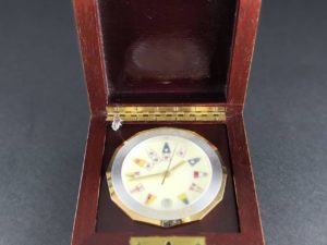 Corum Admiral's Cup Desk Clock - Baer Bosch Auctioneers