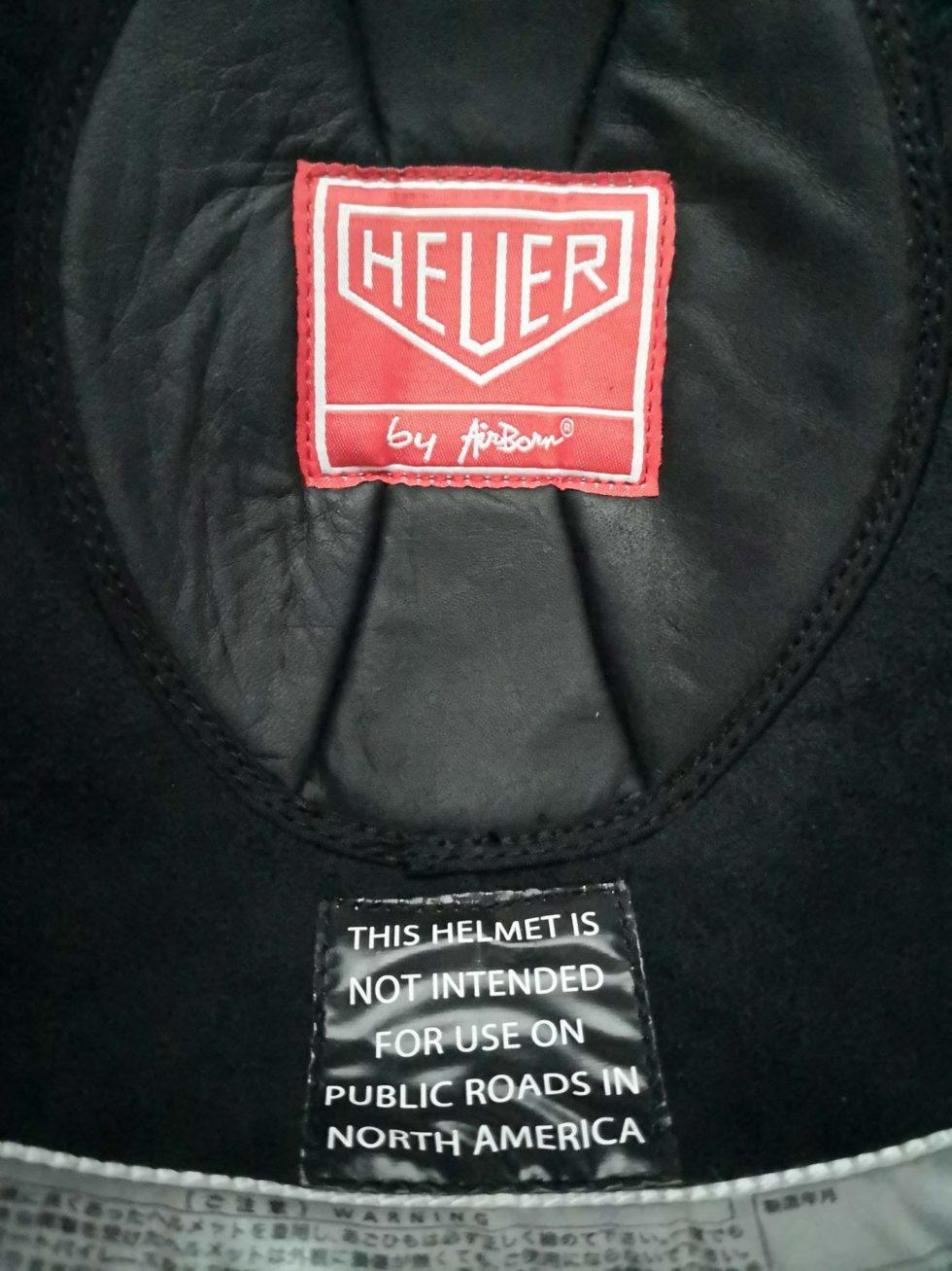 Lot #3202A – Tag Heuer McQueen Monaco Motorcycle Helmet Helmets Tag Heuer