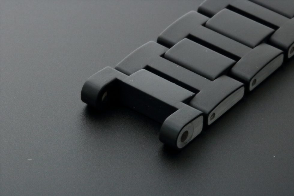 Lot #3203B Cartier Pasha Seatimer Rubber Steel Watch Bracelet 22MM / 172MM CHME Watch Bracelets 22mm