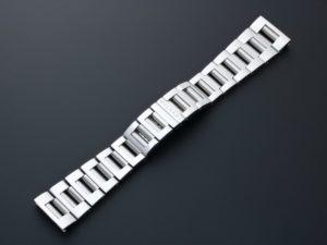 Lot #4989 Bvlgari Rettangolo Watch Bracelet 21MM / 152MM P01.01 Bvlgari 21mm