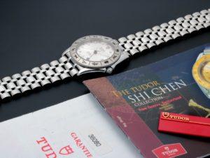 Lot #6632- Rare Tudor Monarch Shi Chen Zodiac Watch 38080ZG 38080 Tudor
