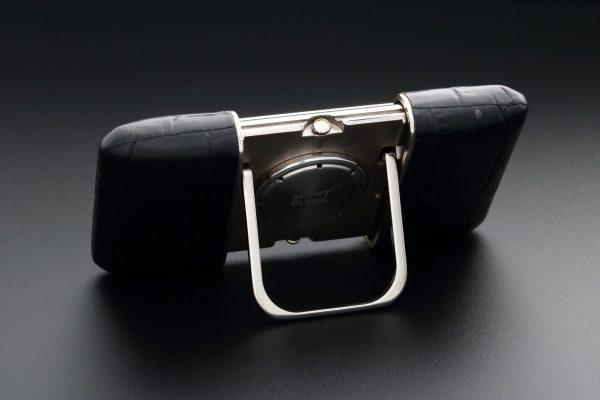 Montblanc Ermeto Alarm Travel Desk Clock - Baer Bosch Auctioneers