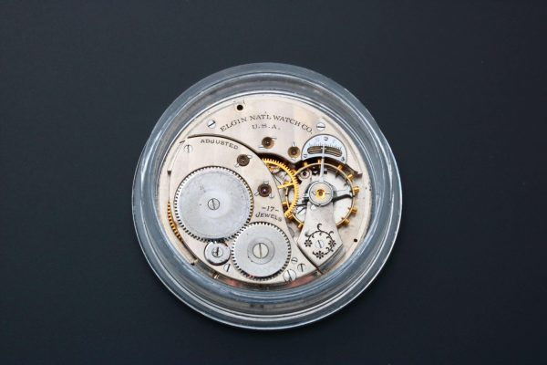 Elgin Pocket Watch Dial Movement Parts - Baer Bosch Auctioneers