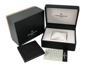 Frederique Constant Watch Box- Baer Bosch Auctioneers