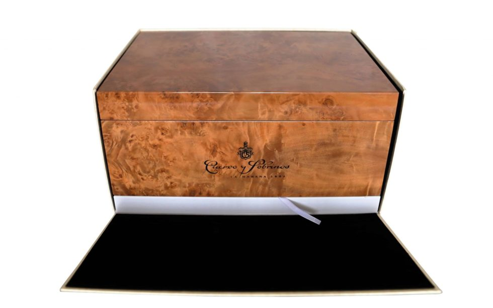 Cuervo y Sobrinos Wood Humidor Watch Box – Baer Bosch Auctioneers