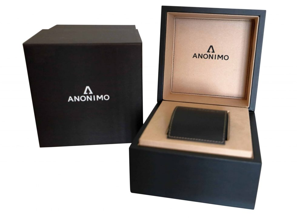 Lot #3398 – Anonimo Watch Box Watch Parts & Boxes Anonimo