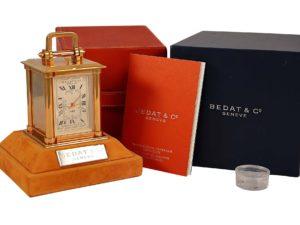 Bedat No 88 Travel Alarm Carriage Clock - Baer Bosch Auctioneers