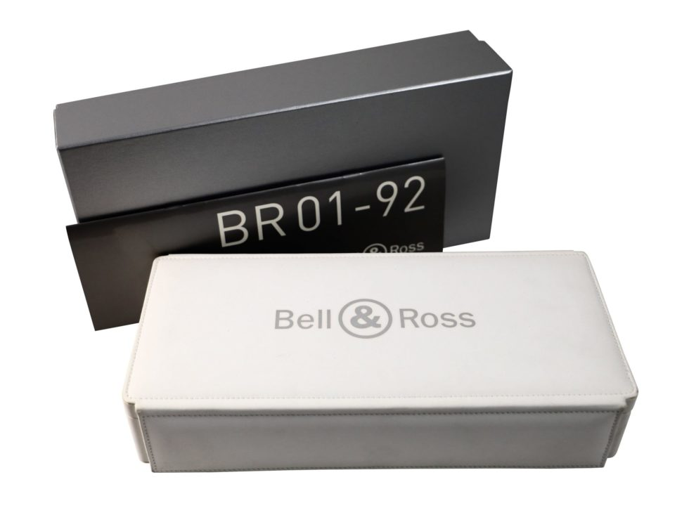 Lot #4881 – Bell & Ross BR01-92 Watch Box Watch Parts & Boxes Bell & Ross
