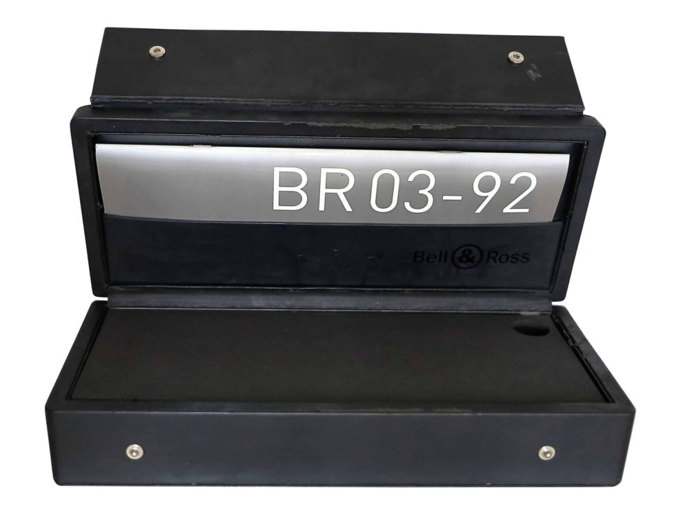 Lot #3340 – Bell & Ross BR03 Watch Box Watch Parts & Boxes Bell & Ross