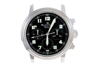Lot #6761 – Blancpain Flyback Dealer Display Clock Clocks Blancpain Dealer Clock