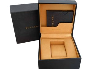 Lot #4867 – Bvlgari Watch Box Watch Parts & Boxes Bvlgari