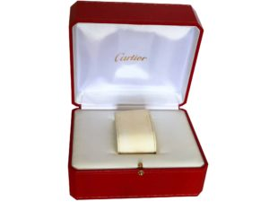Lot #4870 – Cartier Watch Box Watch Parts & Boxes Cartier