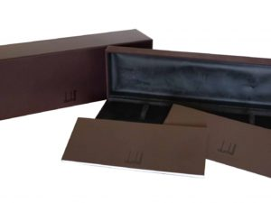 Lot #4838A – Dunhill Watch Box Watch Parts & Boxes Dunhill