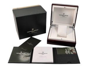 Frederique Constant Wood Watch Box- Baer Bosch Auctioneers