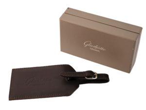 Glashutte Leather Luggage Tag - Baer Bosch Auctionee