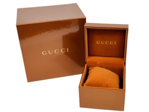 Gucci Watch Box - Baer Bosch Auctioneer