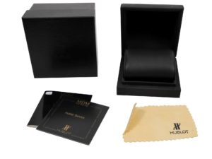 Hublot Watch Box - Baer Bosch Auctioneer