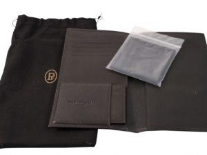 Parmigiani Leather Wallet Set - Baer Bosch Auctionee