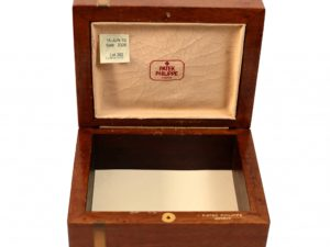 Patek Philippe Wooden Box - Baer Bosch Auctioneers