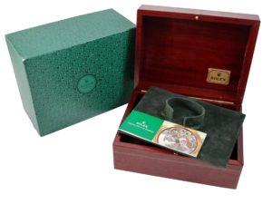 Rolex Wood Watch Box - Baer Bosch Auctioneers