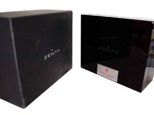 Zenith FS Richard Watch Box - Baer Bosch Auctioneers