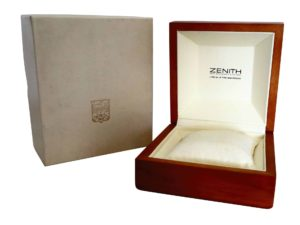 Zenith Watch Box - Baer Bosch Auctioneers