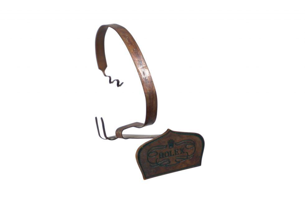 Lot #3206B – Rolex Coronet Display Watch Stand Vintage Collector Rarities Rolex Watch Stand