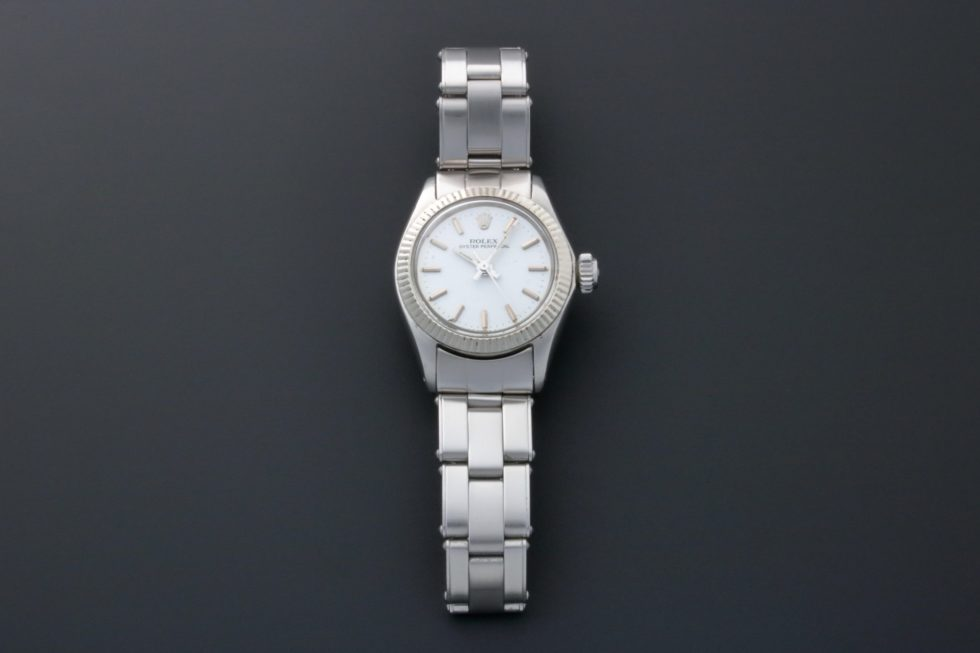 Lot #3225B – Rolex Oyster Perpetual Watch 6619 Vintage Ladies Ladies Rolex