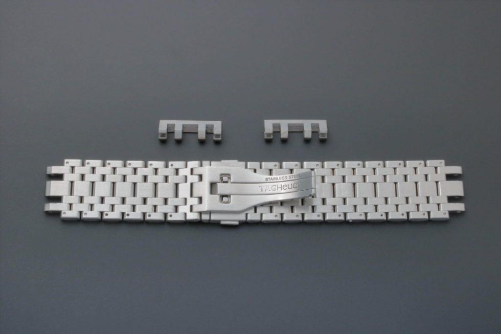 Lot #3246 – Tag Heuer Monaco Watch Bracelet 22MM FAA006 3084Y Tag Heuer 22mm
