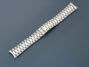 Lot #4985 – Omega Speedmaster Tutone Watch 18MM Bracelet 1489/813 142mm Omega Omega 1489/813