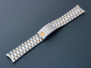 Omega Speedmaster Tutone Watch Bracelet 18MM 1469/811 - Baer & Bosch Auctioneers