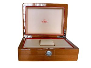 Omega Wood Watch Box - Baer & Bosch Auctioneers