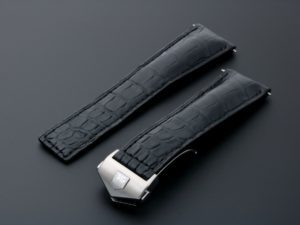 Lot #4849a – Tag Heuer Leather Watch Strap 22MM FC5014 Tag Heuer Tag Heuer