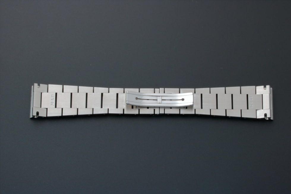 Lot #3640 – Bvlgari Rettangolo Chronograph Watch Bracelet 21MM P03.01 Bvlgari 21mm