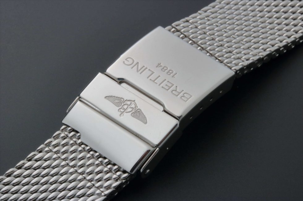Breitling Watch Mesh Bracelet 24MM 1309 144A 140MM – Baer & Bosch Auctioneers
