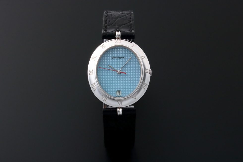 Lot #3648 – Gerald Genta Retro Classic Watch G.3327.7 White Gold Ladies Gerald Genta Gerald Genta